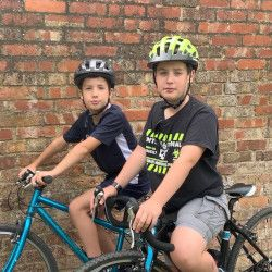 Two CCCS Brothers Cycle over 1000km for Environmental Charity