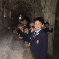 Worcester College Choir Visit Gloucester Cathedral