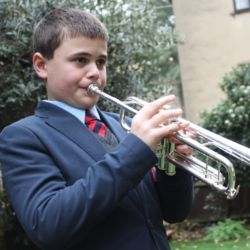 Cathedral Chorister Alexander Winnifrith wins a place as trumpeter in the National Children's Orchestra